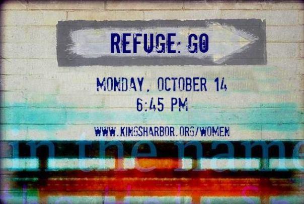 Refuge on October 14th @ 6:45pm