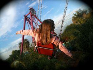 Sofia on swing2