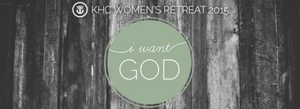 I Want God